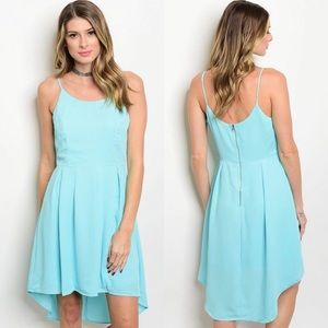Spaghetti strap scoop neck dress NWT